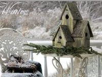bird house・bird feeder・bird bath
