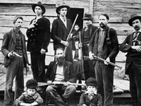The most infamous feud in American folklore, the long-running battle between the Hatfields and McCoys