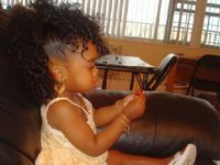 Beautiful hairstyles for little girls..