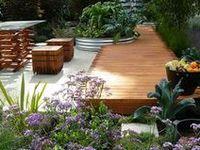 A collection of Garden designs and ideas