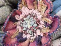 Textile Art Jewelry