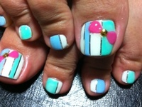 On this board I pin not my designs. If you want to see my toe nails designs please visit My Toe Nails board :)