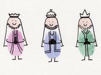 """Natal / """"Dia de Reis"""" - galette des rois/ couronnes - crowns/ maskers"""