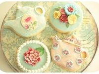 Tea is my great passion, right after my grandchildren! There's nothing I like better than planning a tea party!