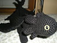 1000+ images about Toothless crochet pattern on Pinterest ...