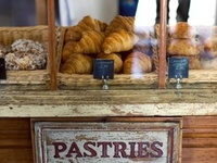 Bakeries and Cafes...