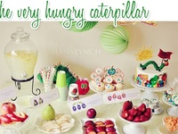 The Very Hungry Caterpillar Themed Party