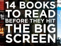 Books I want to read and also books to read before the movie comes out!!!