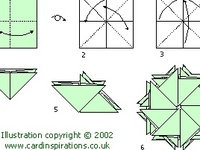 .Cards-Folds Tutorials (Closures/ Shapes/ Tea Bag, etc.)