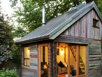 Cabins, landscapes & backyards