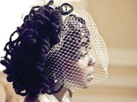 Natural Hair Styles for brides and bridesmaids because Natural Hair Glory loves LOVE.  Sisterlocks, locs, twists, updo, afro, long natural hair...wear your hair your way on your special day.