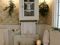680 Best Shabby Chic Bathrooms Images On Pinterest Bath