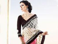 Saree,designer sarees,trendy sarees,indian saree,kerala saree,south indian saree,kerala saree, ethnic wear,half saree,davani,saree for youngsters