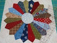 Quilt Design: Plates and Fans