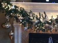 Mantle ideas for Christmas