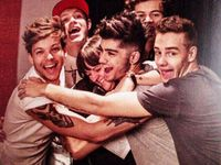 """♡""""Not all heroes wear capes""""♡These five boys have saved my life and they mean so much to me.xx They make me smile,laugh,and give me hope in the darkest of times. I can't thank them enough for changing my life.I love them with all my heart and I'm so proud to be a part of the directioner family♡I've gained a second family and sisters along the way♡∞I'll always be here for our boys∞♡DJ Malik,Daddy Directioner,Nialler,Hazza,and Boobear♡One Band.One Dream.One Direction∞ ♡Zayn and Liam girl♡"""