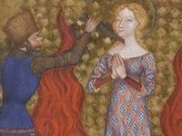 1300-1400 fashion in paintings
