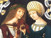 1400-1500 fashion in paintings