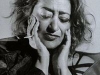 """Dame Zaha Mohammad Hadid (Arabic: زها حديد; born 31 October 1950) is an Iraqi-British architect.  """"Her path to worldwide recognition has been a heroic struggle as she inexorably rose to the highest ranks of the profession. Clients, journalists, fellow professionals are mesmerized by her dynamic forms and strategies for achieving a truly distinctive approach to architecture and its settings. Each new project is more audacious than the last and the sources of her originality seem endless."""""""