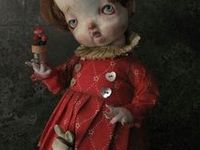 art dolls / i love so many artists and their lovely creations ***