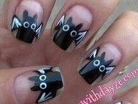 nail polish designs for Halloween