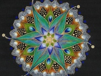 My passion is sharing the Beauty in and around us with a focus on Mandala's and any round shape in Art and Nature. Hand made , computer generated or created by Mother Nature . Contemporary or from the past.    Note: I take great effort to find the artist so please honor them when you repin.