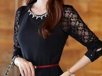 BLACK FASHION / KINDLY PIN ** BLACK FASHION CLOTHING / OUTFIT ONLY ** INVITE MORE FRIENDS TO PIN :) HAVE FUN! THANK YOU!