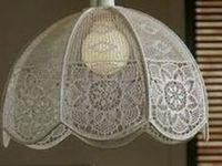 Crochet Lamp Shades