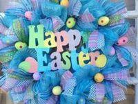Wreath:Easter