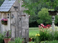 Outhouses and garden sheds