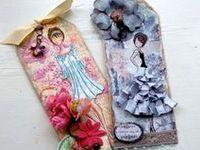 Beautiful doll tags