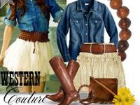 Cow girl outfits