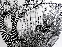 zen tangles/doodles