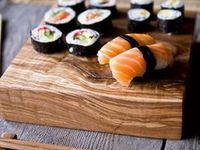 Love it Raw / All about sushi, raw fish, no cooking, just rolling.