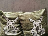 Текстильный декор интерьера /  #шторы #подушки #покрывала Идеи, подсмотренные на просторах интернета