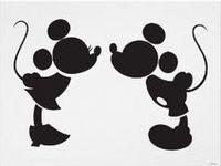 Disney sillouettes