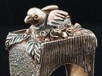 Inspiring works of artisan jewelry