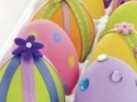 Easter decorations, snacks, etc.