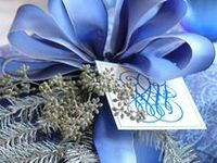 Christmas in shades of blues