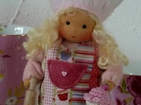 Dolls/Doll Cloths: Crochet, knit, sewn