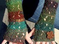 Crochet Mitts, Fingerless, Warmers, Socks