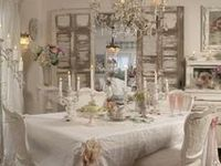 A white shabby chic home