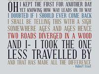 essays on robert frost the road not taken