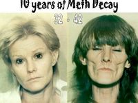Horrible images of drug users and the aftermath...