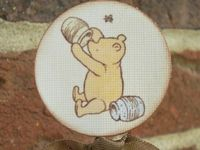 Vintage pooh bear birthday