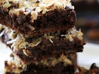 Bars and brownies with a little bit of snap, crackle, pop mixed in :)