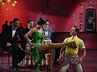 Photos of Dance in its various forms - old musicals, practice, dance for fun, ballet and stage