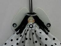 engeltjes - creatief - angel crafts
