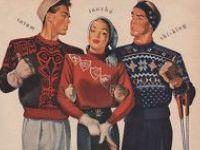 винтажное вязание