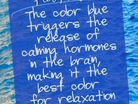Blue- my favorite color in the wide world